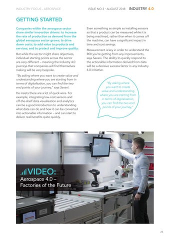 Page 25 of Industry Focus – Aerospace