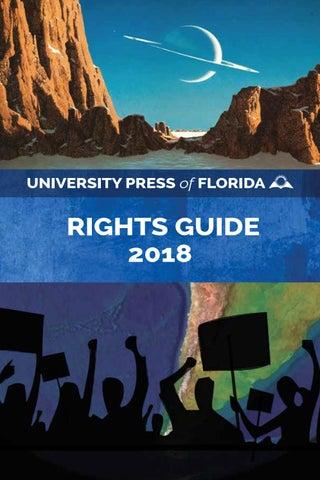 University Press of Florida Rights Catalog 2018 by University Press