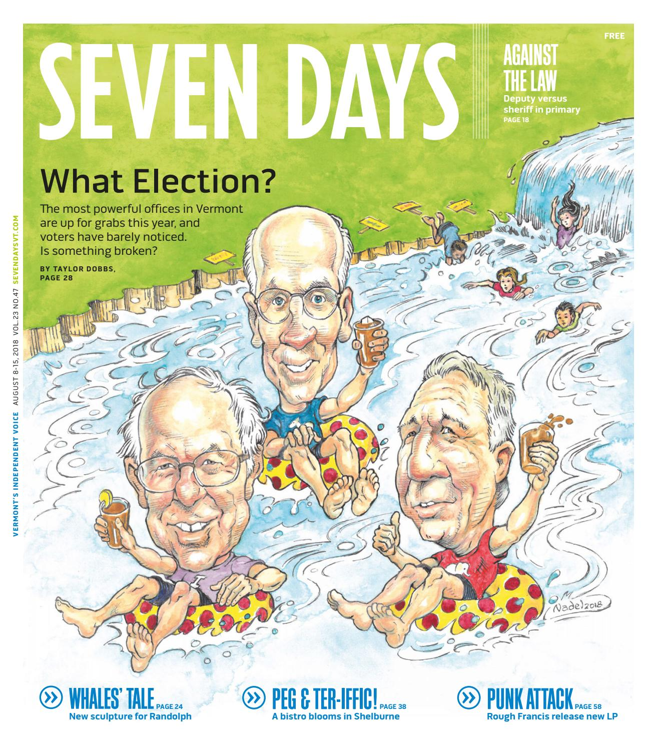 Seven Days, August 8, 2018 by Seven Days - issuu