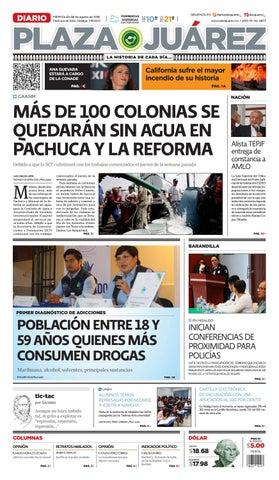 watch 86fc1 65428 MÁS DE 100 COLONIAS SE QUEDARÁN SIN AGUA EN PACHUCA Y LA REFORMA by ...