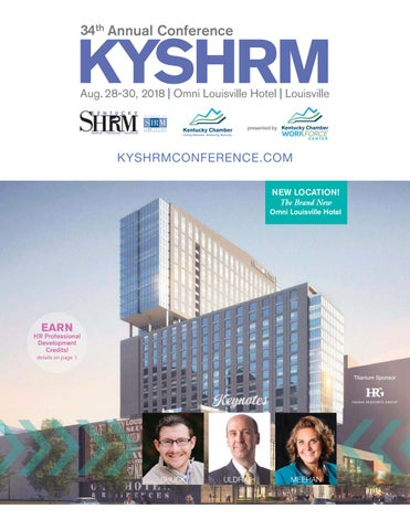 34th Annual KYSHRM Conference by Sarah Cathey - issuu