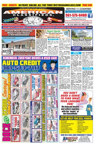 Duval County School Calendar 2020-2016 Victoria American Classifieds August 9 2018 by American
