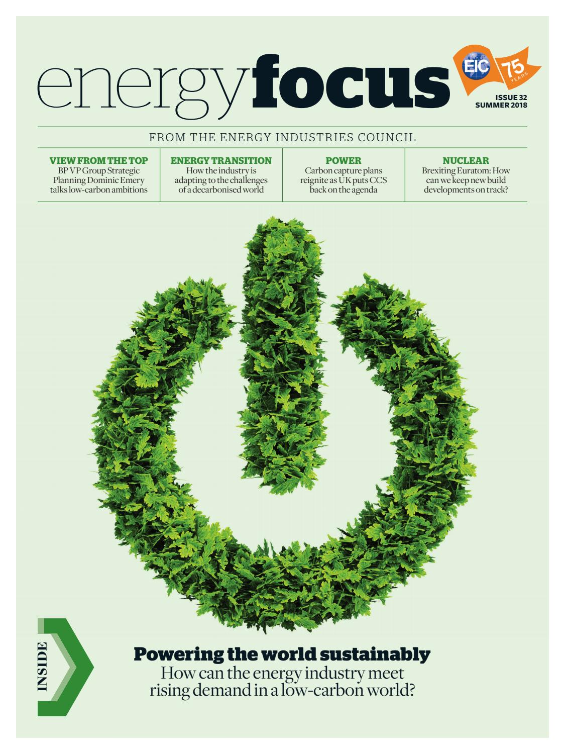 Energy Focus Summer 2018 by Energy Industries Council - issuu