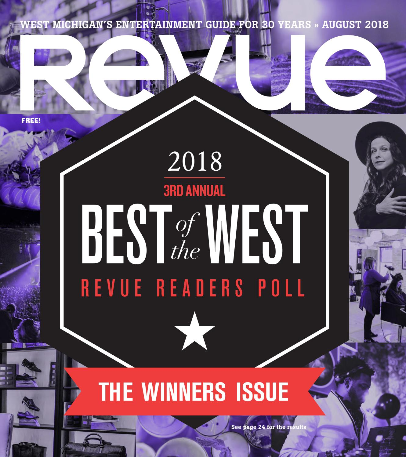 f79d8b05 Revue Magazine, August 2018 by Revue Magazine - issuu