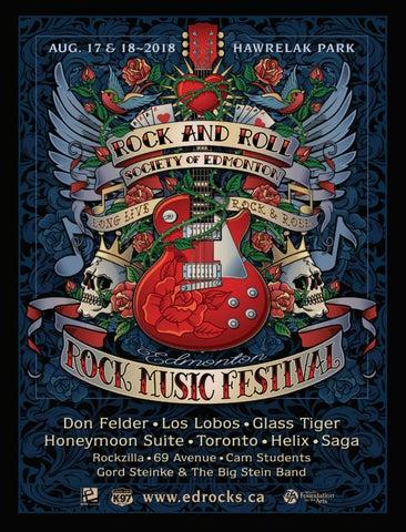 b7749534119 Edmonton Rock Music Festival 2018 by T8N Magazine - issuu