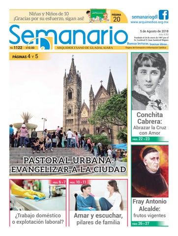 58b7e9b7ca1 Semanario 1122 by Semanario Arquidiocesano de Guadalajara - issuu