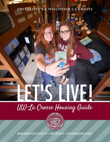Uw La Crosse Housing Guide 2018 19 By University Of Wisconsin La