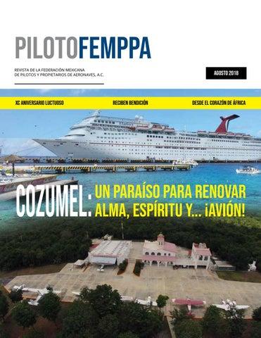 523127e2df PILOTOFEMPPA REVISTA DE LA FEDERACIÓN MEXICANA DE PILOTOS Y PROPIETARIOS DE  AERONAVES