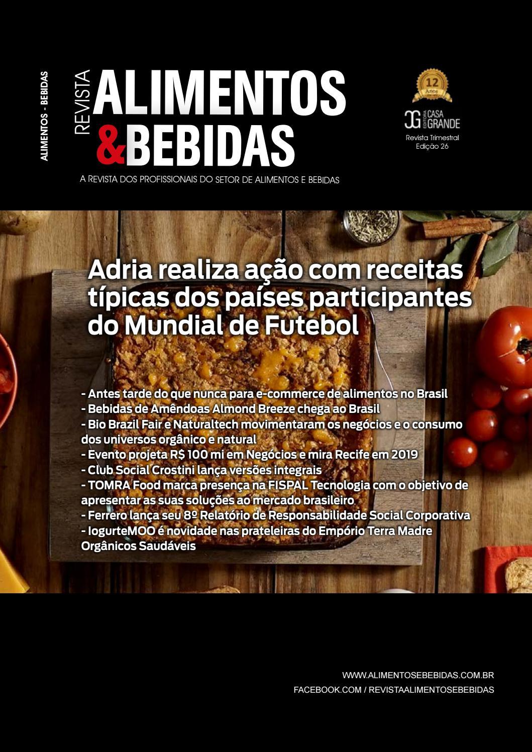 Revista Alimentos   Bebidas Nº26 by Casa Grande - issuu 6bea2300df