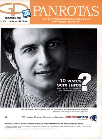Guia PANROTAS - Edição 369 - Dezembro 2003 by PANROTAS Editora - issuu eece2522a6a