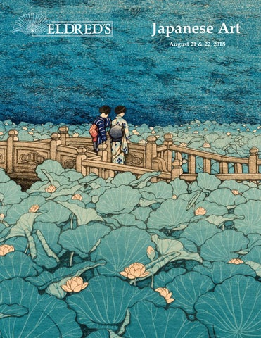 e3f91b513da0 2018 Japanese Art Auction Catalog by Eldred s Auction - issuu