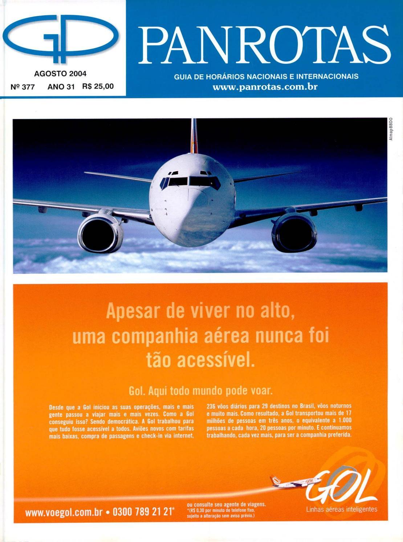 c3cb56219 Guia PANROTAS - Edição 377 - Agosto 2004 by PANROTAS Editora - issuu