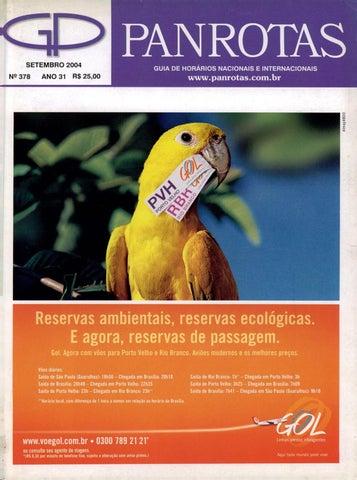f753bb21bcd Guia PANROTAS - Edição 378 - Setembro 2004 by PANROTAS Editora - issuu