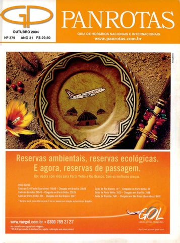 adbc74ed9d6 Guia PANROTAS - Edição 379 - Outubro 2004 by PANROTAS Editora - issuu