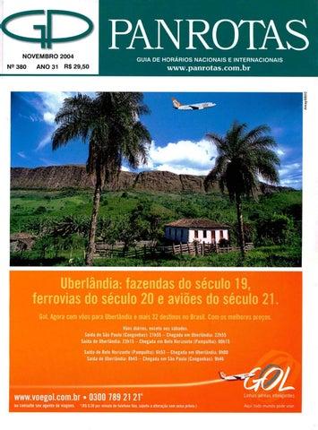 Guia PANROTAS - Edição 380 - Novembro/2004 by PANROTAS Editora - issuu