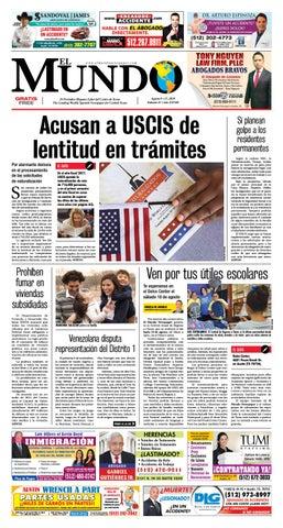 El Mundo Newspaper 32 - 2018 by El Mundo Newspaper - issuu 4aba0fea3