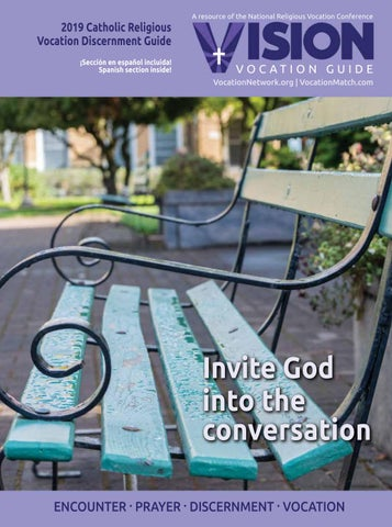 Free vision vocation guide 2019 + bookmark prayer cards and.