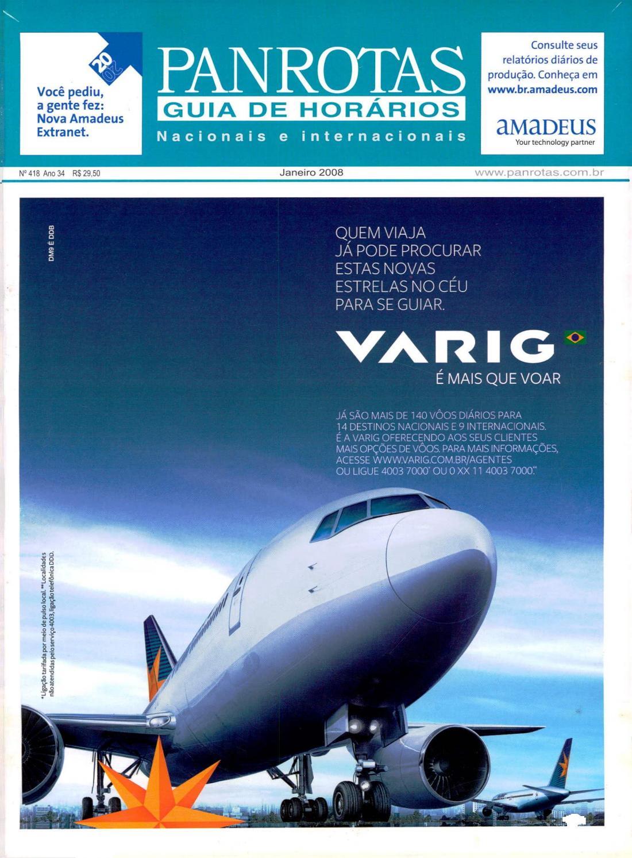 8eb046668b5 Guia PANROTAS - Edição 418 - Janeiro 2008 by PANROTAS Editora - issuu