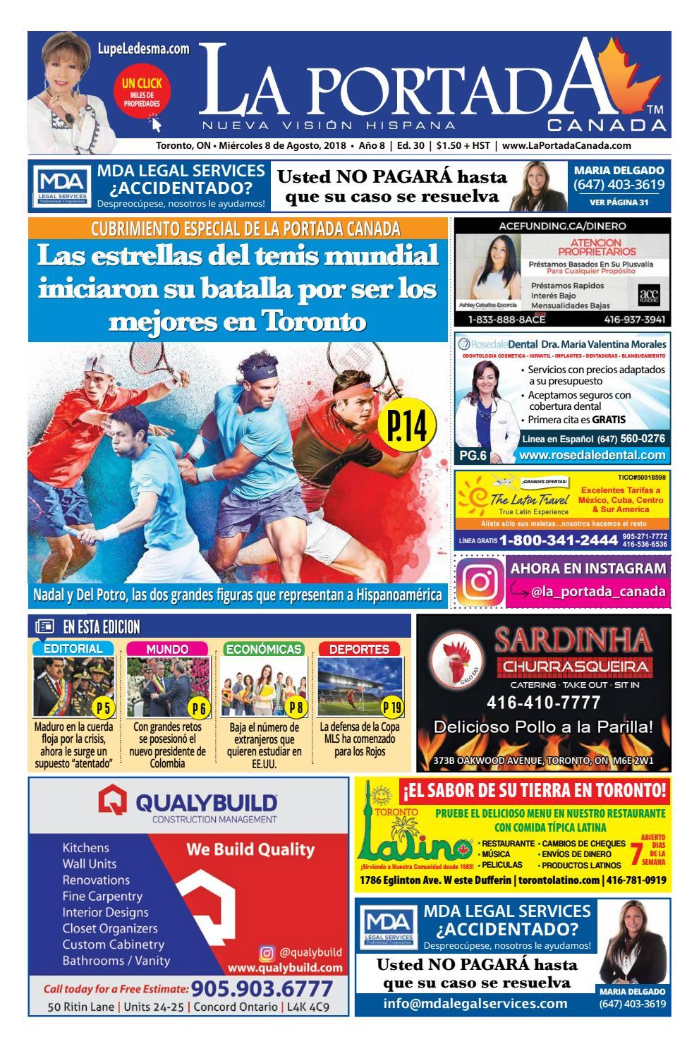 La Portada canada by Comercio Latino - issuu