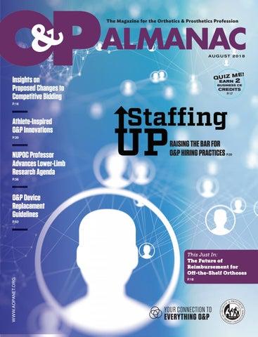5aefd55775 The Magazine for the Orthotics & Prosthetics Profession