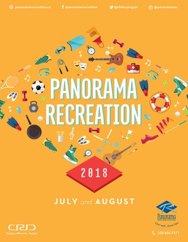 18acb592838f Panorama Recreation Summer 2018 Brochure by Panorama Recreation - issuu