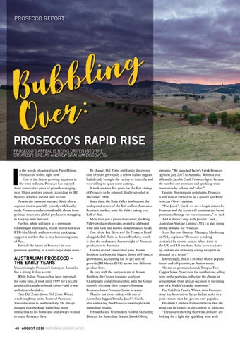 Page 40 of PROSECCO'S RAPID RISE