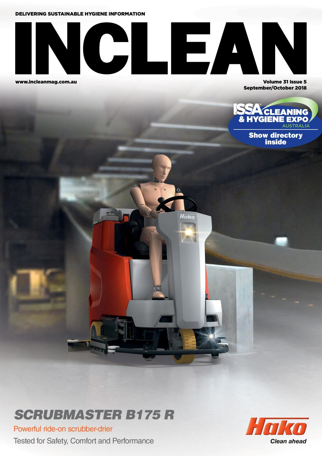 INCLEAN Magazine - September/October 2018 by The Intermedia