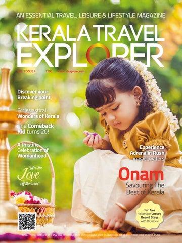 Kerala Travel Explorer Volume 1 Issue 4 by