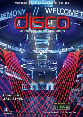 Mars Frédéric De Poulet 2018 By Issuu Magazine La Discothèque Avril PwOk8n0