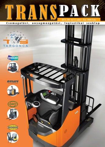 e7921bdee1 Transpack 2015 VI. lapszám by Horizont Média Kft. - issuu