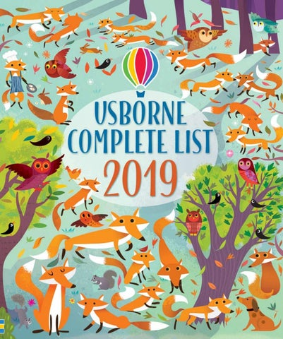 e92ed89a Usborne Publishing Catalogue 2019 by Usborne Publishing - issuu
