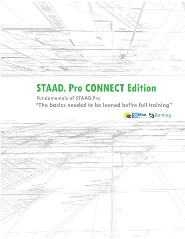 STAAD Pro CONNECT Edition - Workshop 13rd June 2018 by Virra