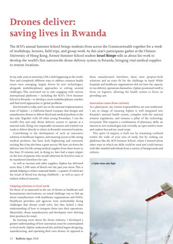 Page 12 of Drones deliver: saving lives in Rwanda
