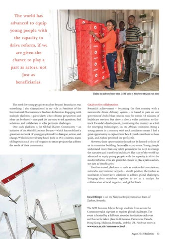 Page 13 of Drones deliver: saving lives in Rwanda