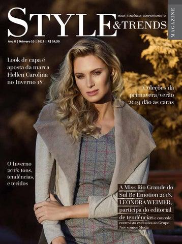 05a6842f69 Revista STYLE   TRENDS (edição 10) by Nós somos Moda - issuu