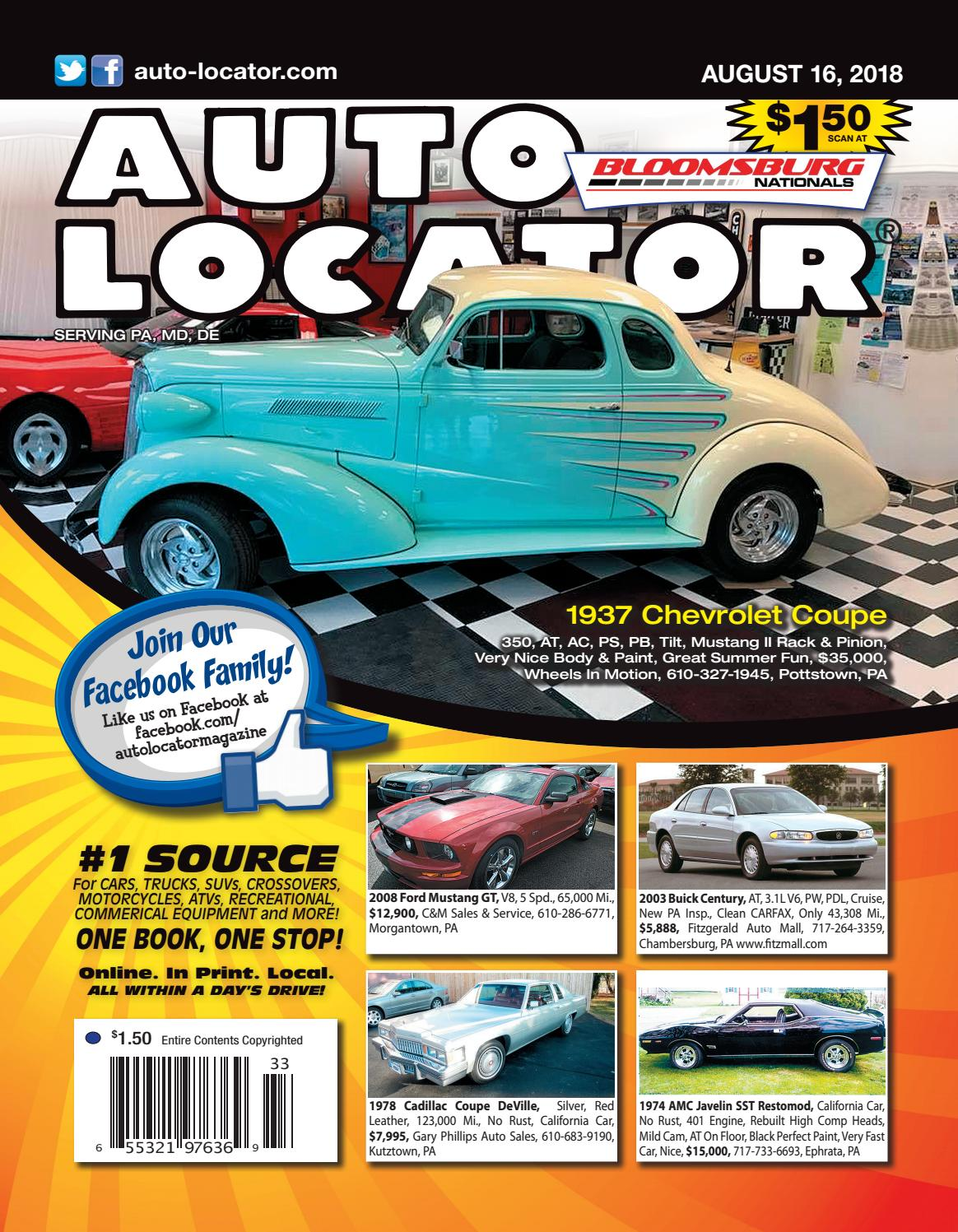08-16-18 Auto Locator Blue Edition by Auto Locator and Auto Connection -  issuu