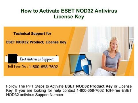 eset nod32 activation license key