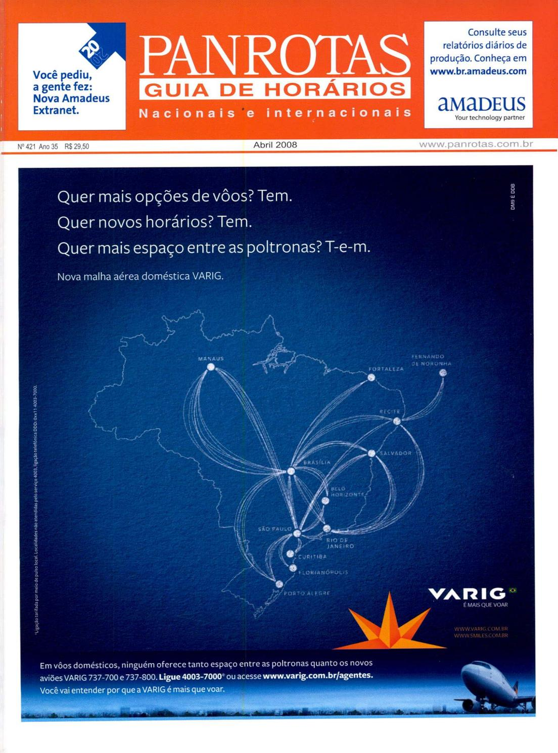 4e3c2860753 Guia PANROTAS - Edição 421 - Abril 2008 by PANROTAS Editora - issuu