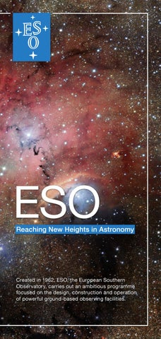 40e8d269de6 ESO Annual Report 2014 by European Southern Observatory - issuu