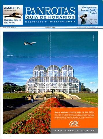 8329d6cfff6 Guia PANROTAS - Edição 425 - Agosto 2008 by PANROTAS Editora - issuu