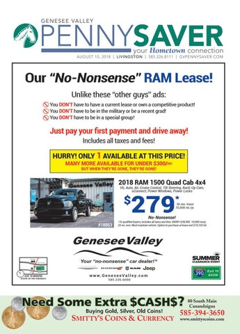 4807054af Livingston Edition - The Genesee Valley Penny Saver by Genesee ...
