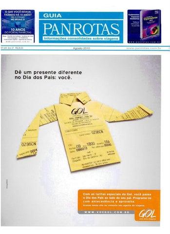c618a5861 Guia PANROTAS - Edição 449 - Agosto/2010 by PANROTAS Editora - issuu