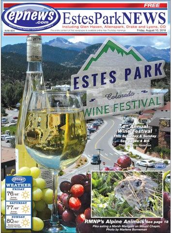 Estes Park News August 10 2018 By Estes Park News Inc Issuu