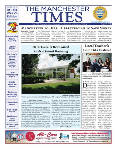 2018-08-11 - The Manchester Times by Micromedia Publications