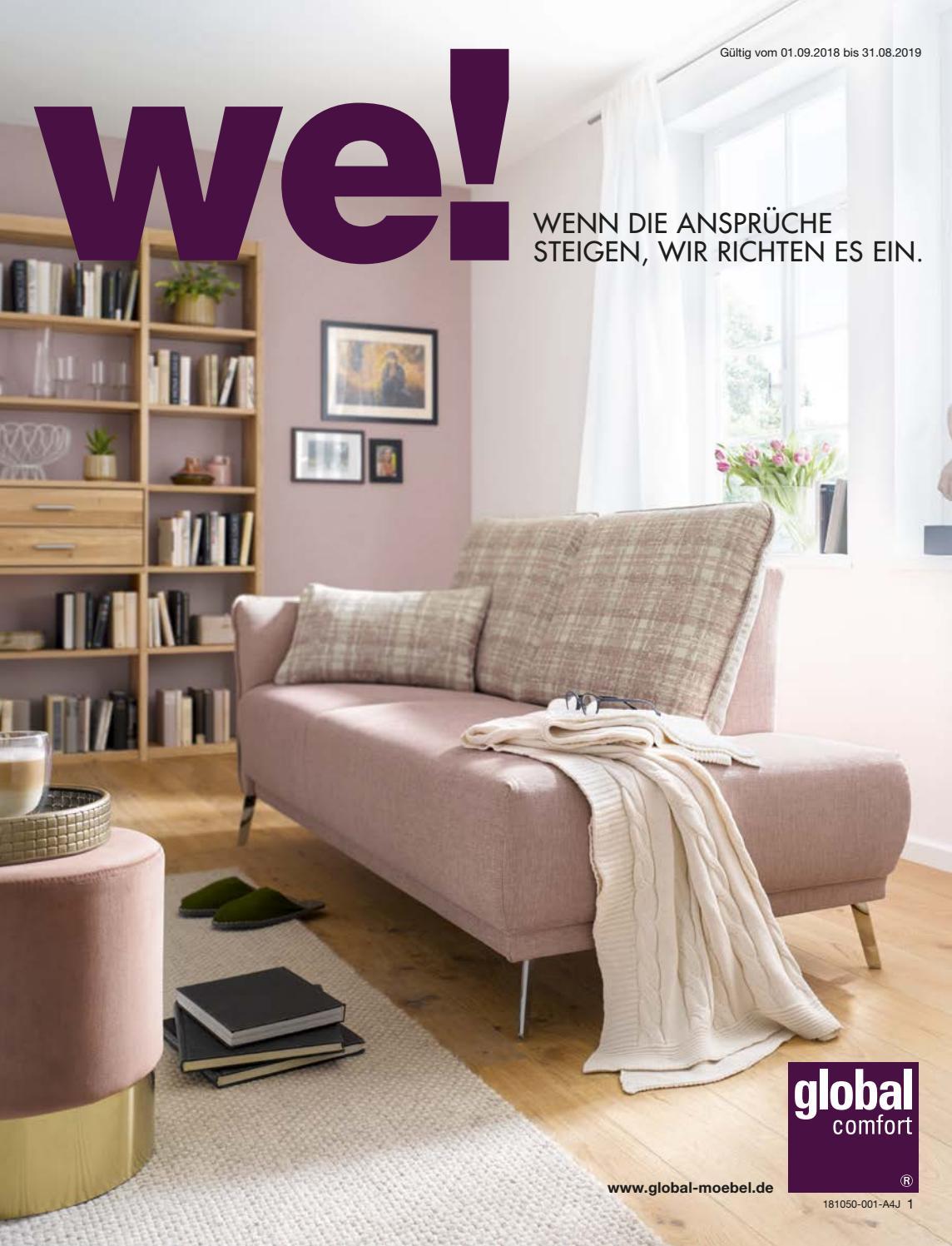 platzsparend ideen couch relax, global comfort by europa möbel-verbund gmbh - issuu, Innenarchitektur