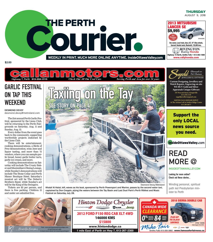 59ce9da0e82 OTV P A 20180809 by Metroland East - The Perth Courier - issuu