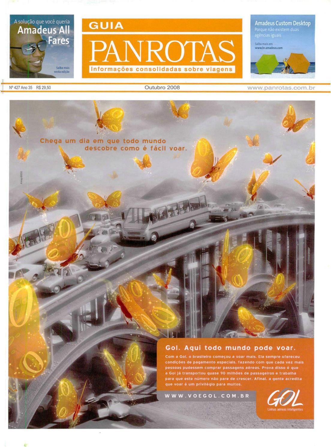 9bee278e3 Guia PANROTAS - Edição 427 - Outubro/2008 by PANROTAS Editora - issuu