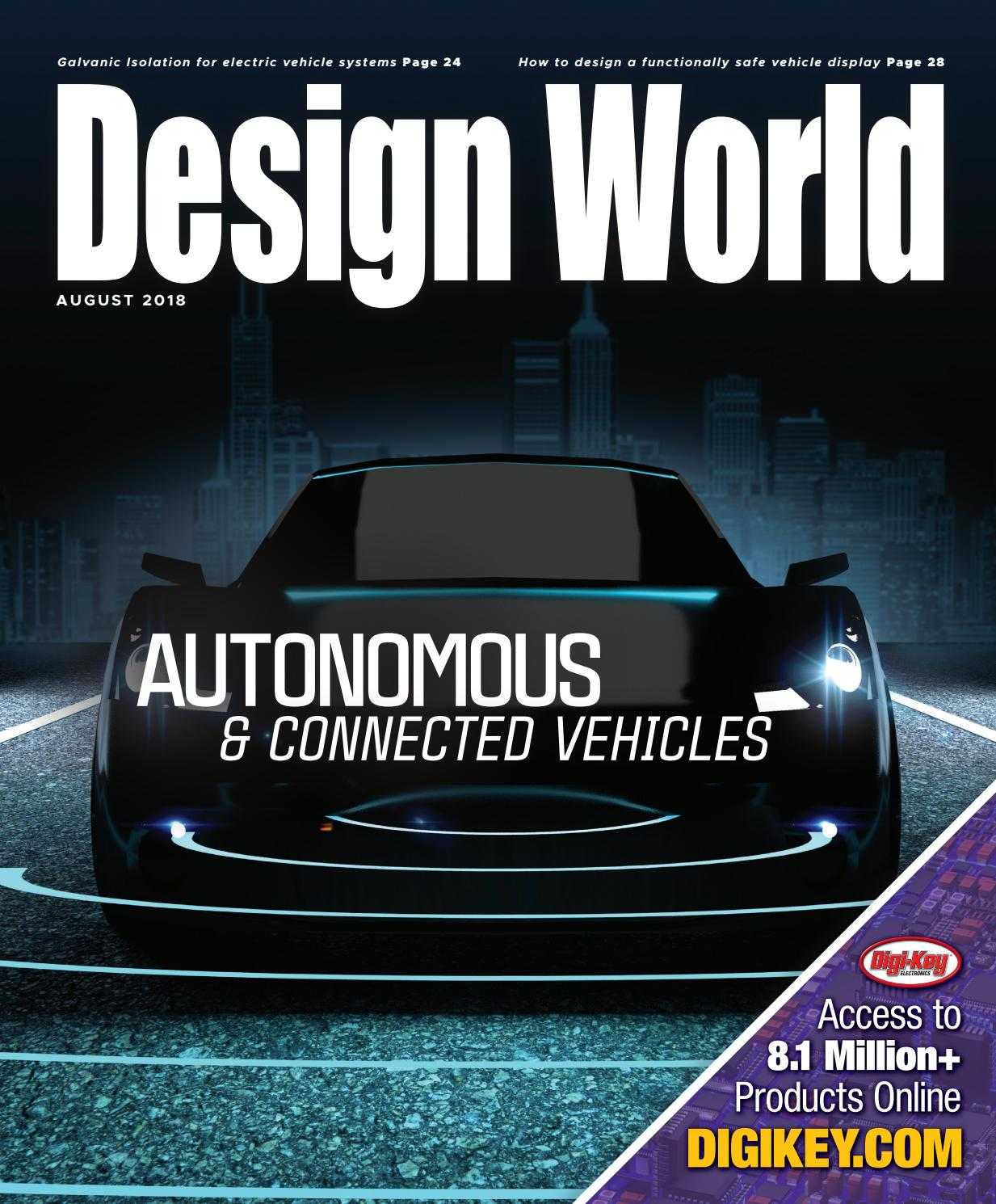 Autonomous & Connected Vehicles August 2018 by WTWH Media