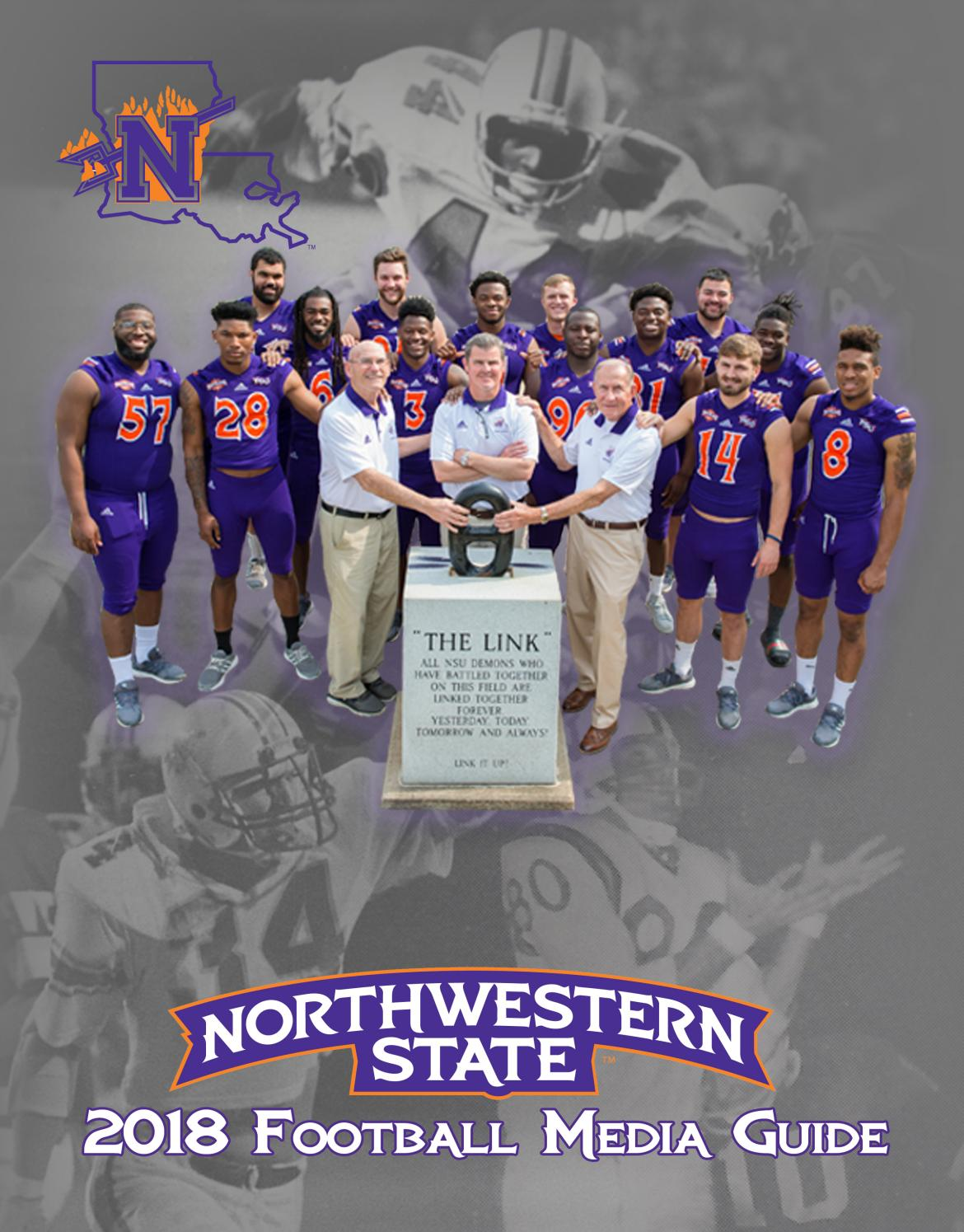 46f590c02bc 2018 Northwestern State Football Media Guide by Northwestern State Sports  Information - issuu