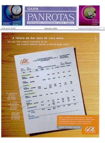 a7ccbcf34 Guia PANROTAS - Edição 438 - Setembro/2009 by PANROTAS Editora - issuu